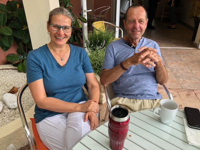 Jochen und Christin im Mythos Corfu